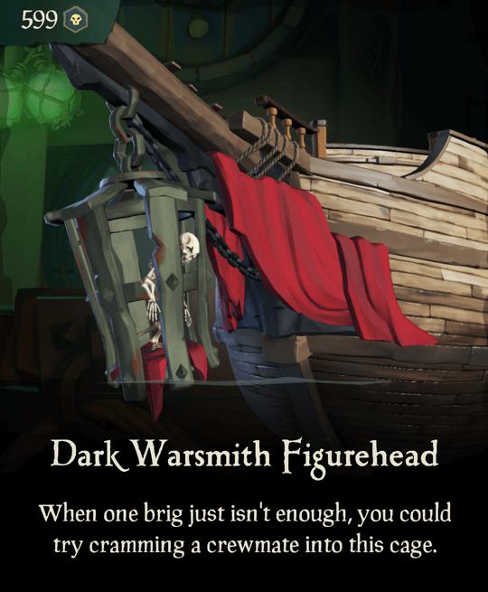Dark Warsmith Figurehead