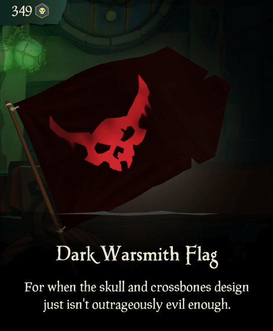 Dark Warsmith Flag