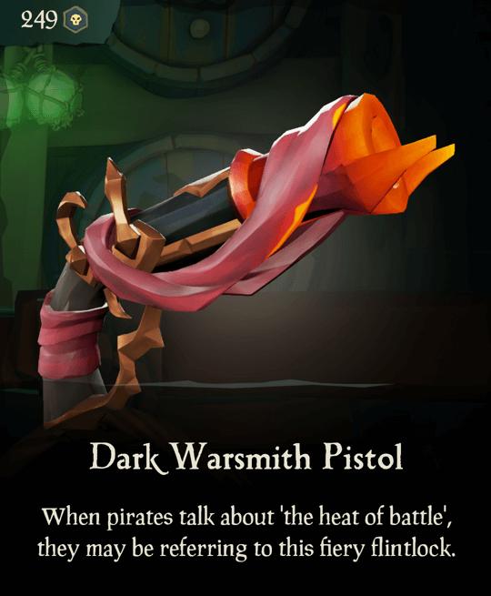 Dark Warsmith Pistol