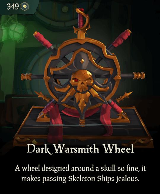 Dark Warsmith Wheel