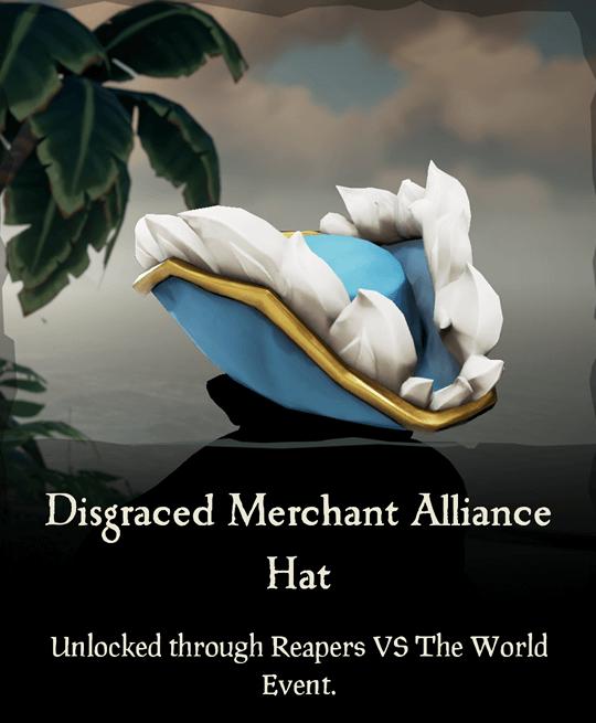 Disgraced Merchant Alliance Hat