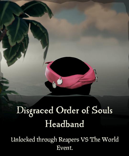 Disgraced Order of Souls Headband