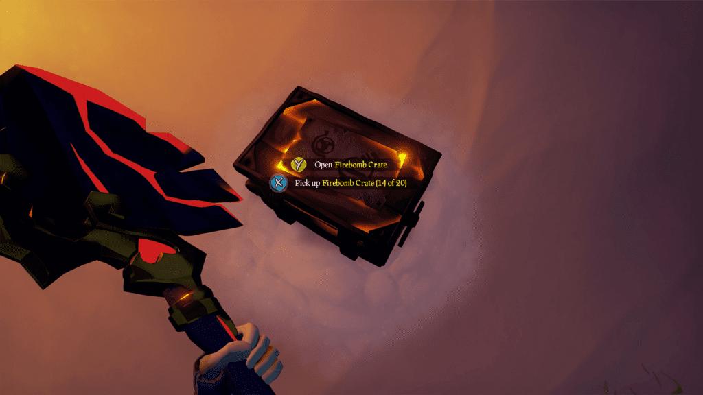 Firebomb Crate