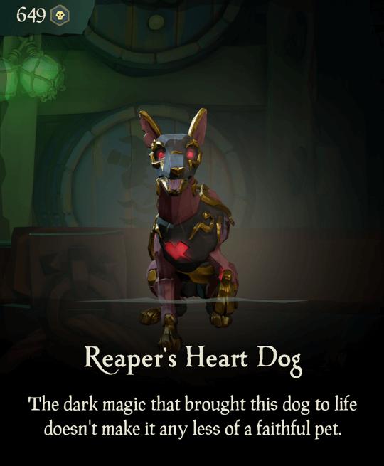 Reaper's Heart Dog