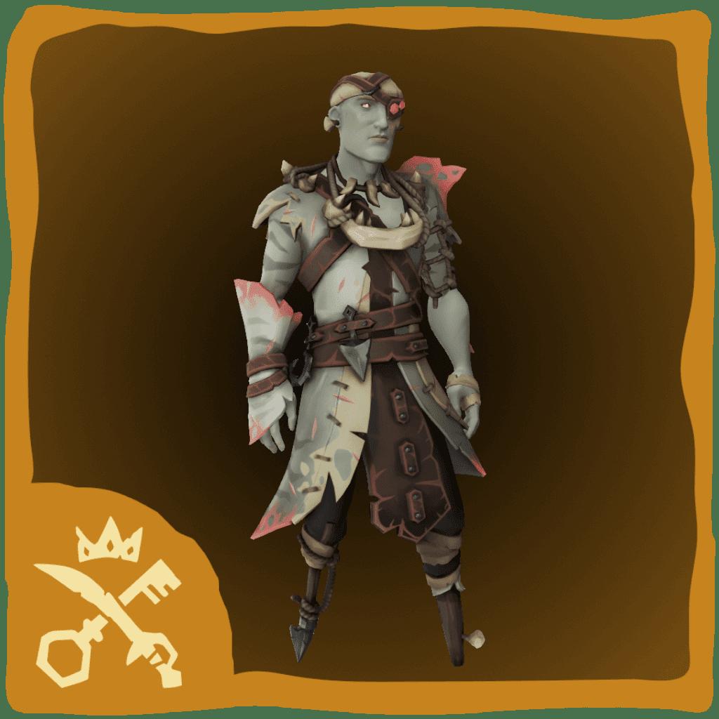 Shrouded Ghost Hunter Costume