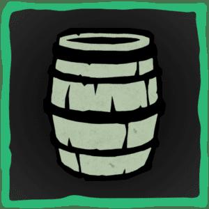 Barrel Disguise Emote