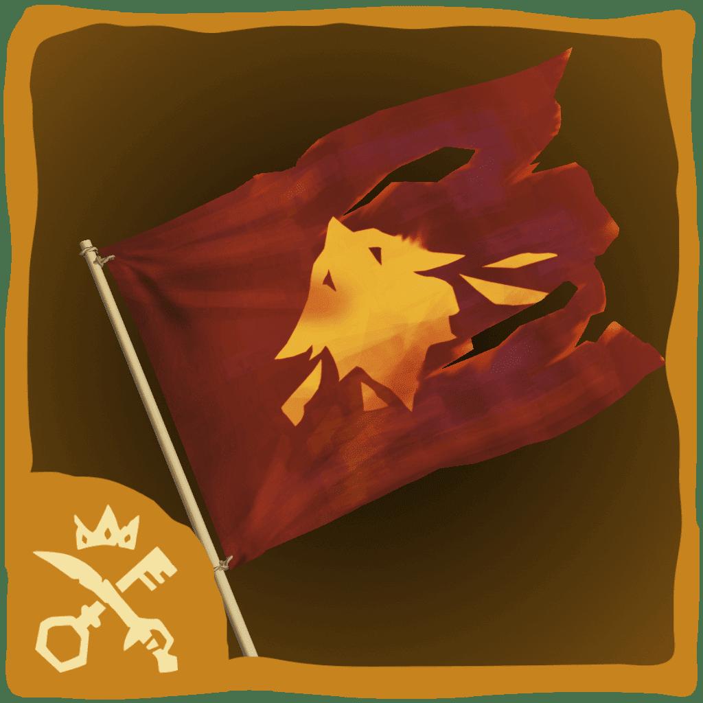 Black Phoenix Flag
