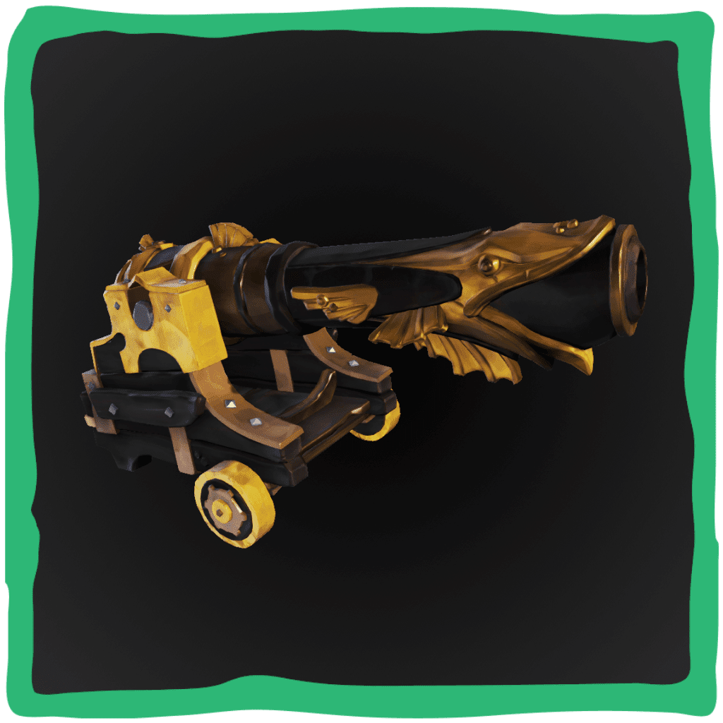 Golden Barnacle Cannons