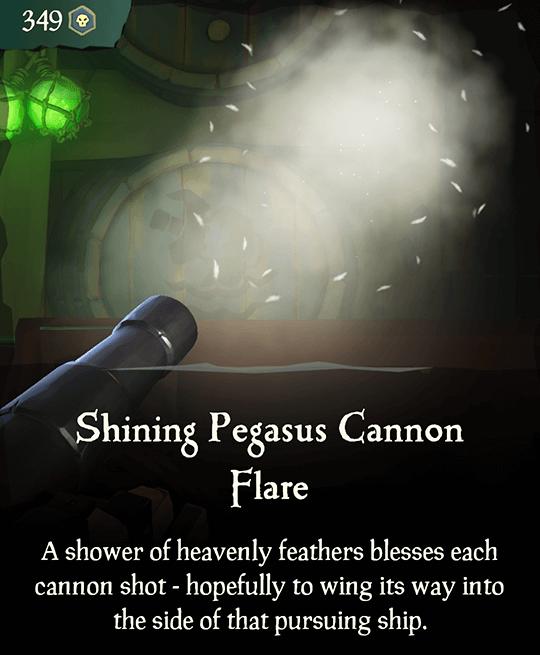 Shining Pegasus Cannon Flare