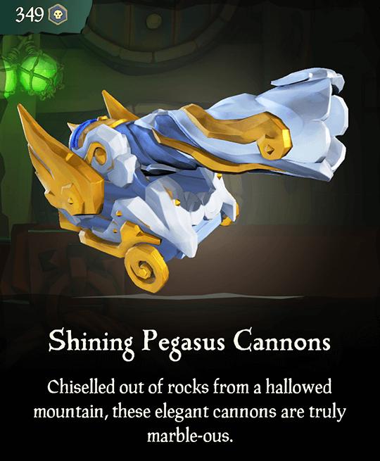 Shining Pegasus Cannons