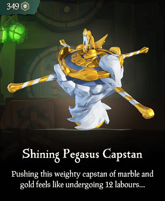 Shining Pegasus Capstan