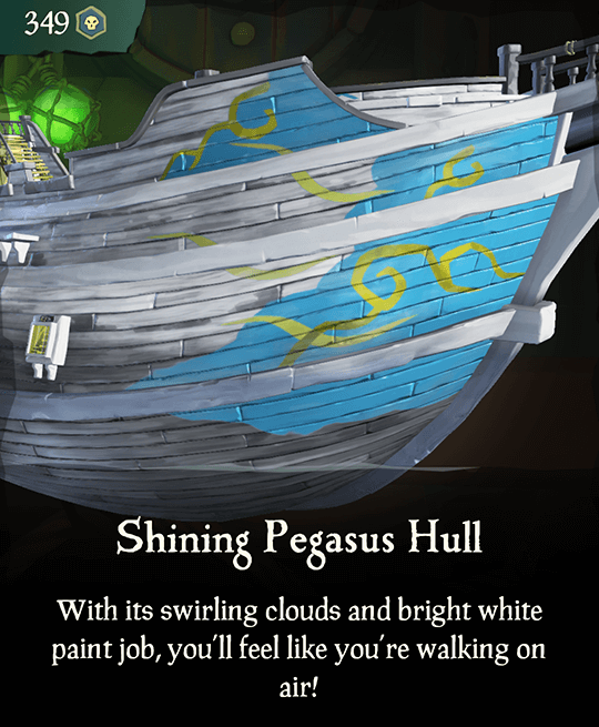 Shining Pegasus Hull