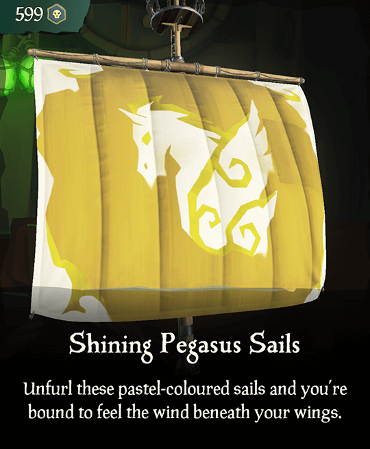 Shining Pegasus Sails