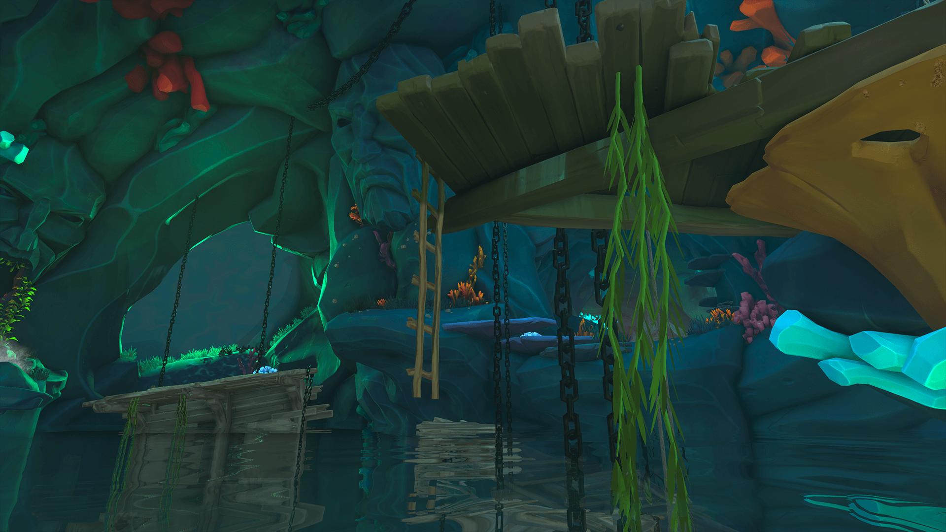 Citadel-Cavern 3-Climb the Ladder