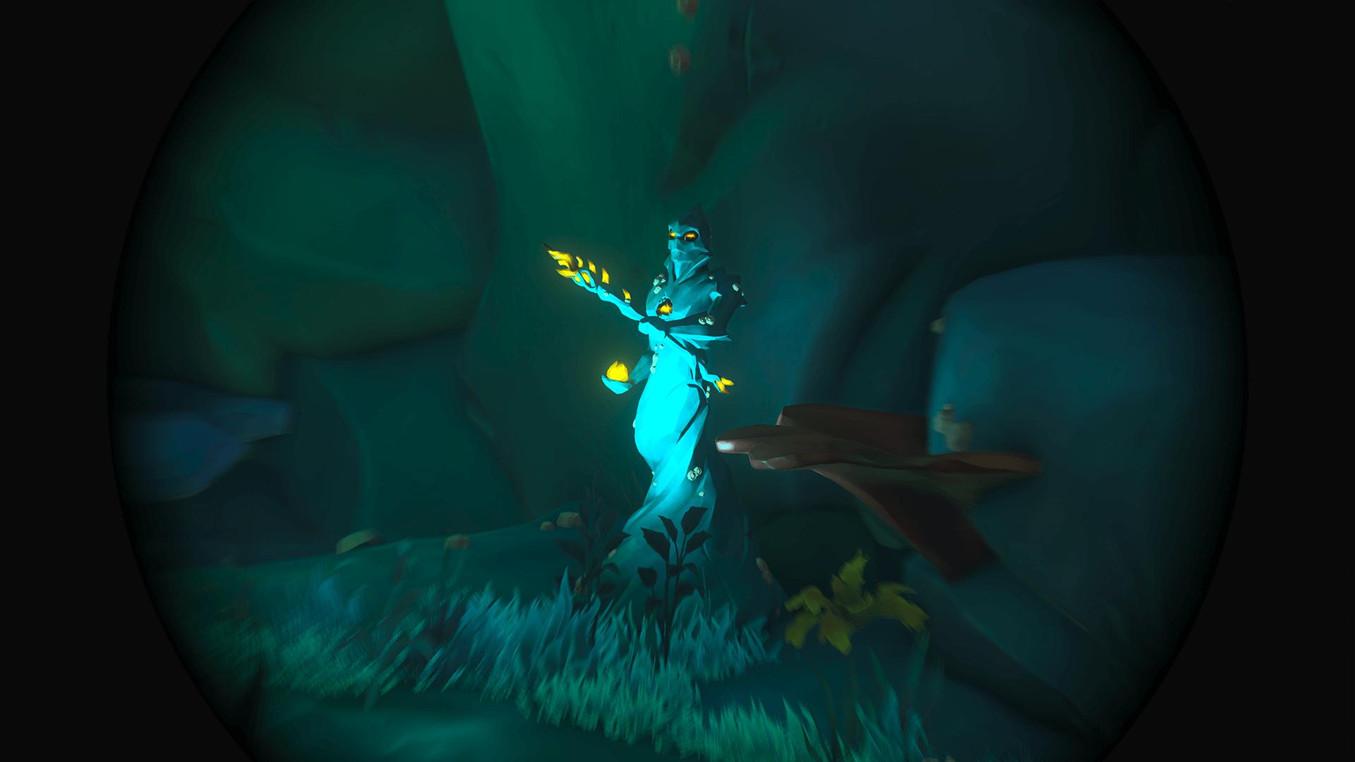 Citadel-Cavern 3-Mineral Statue Mid