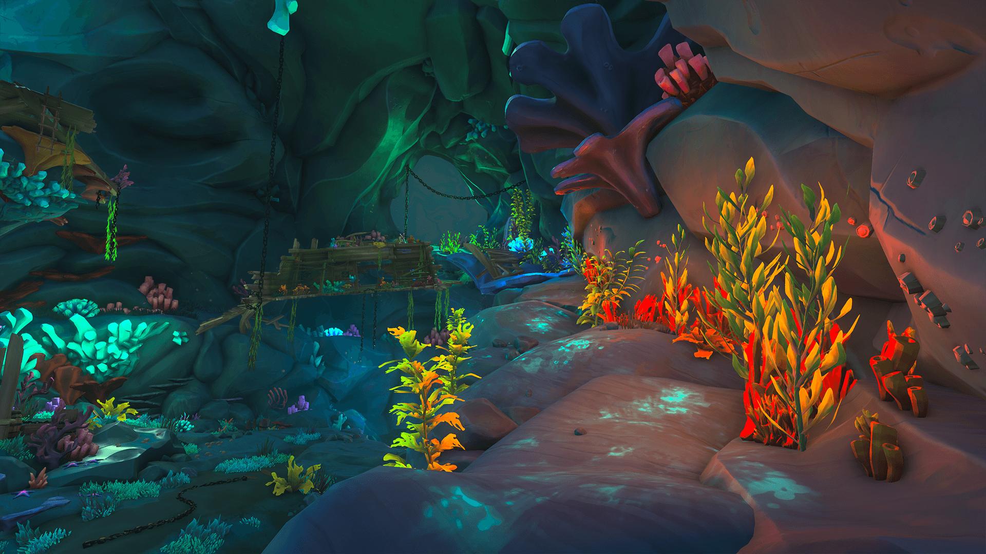 Citadel-Cavern 3, Path to the Shipwreck