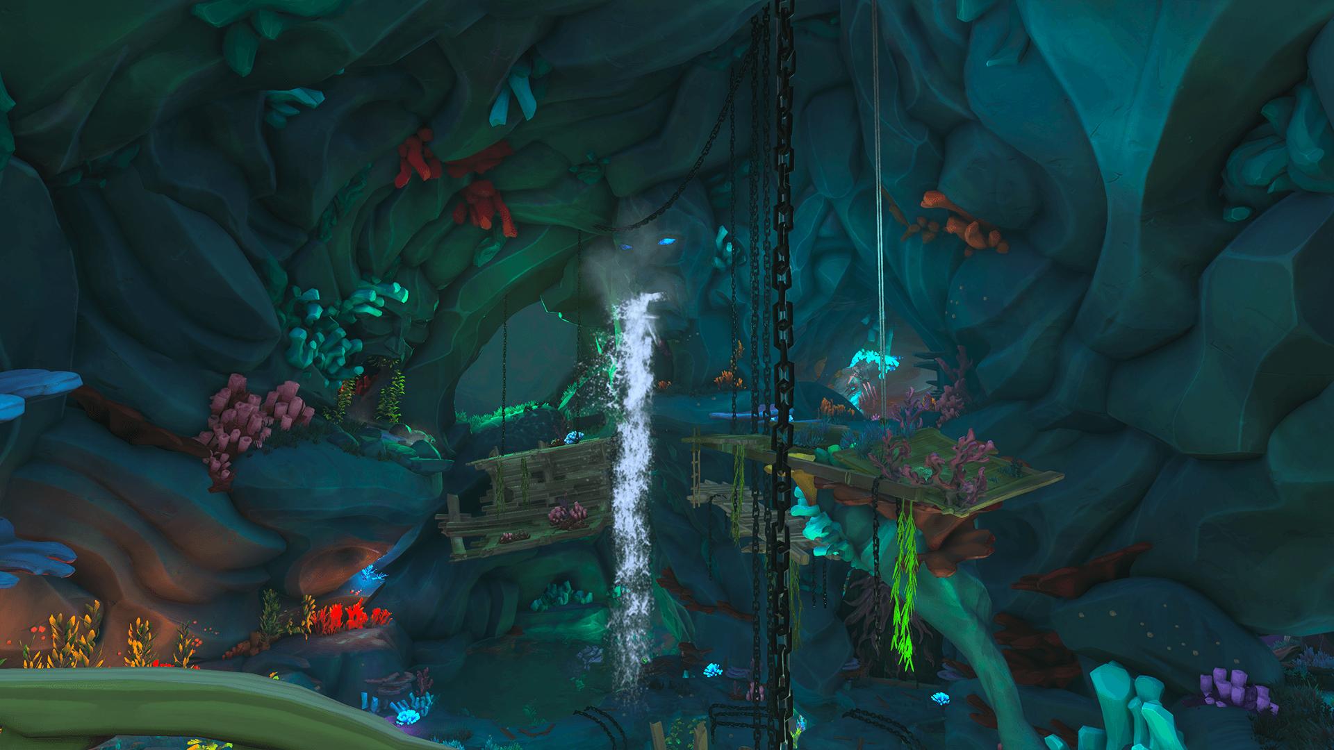 Citadel-Cavern 3-Water Filling Up