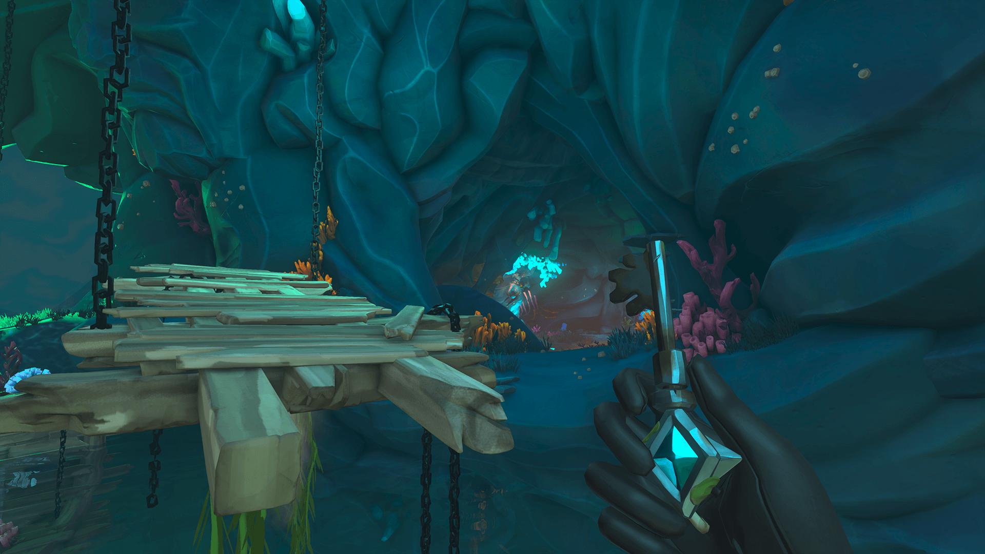 Citadel-Cavern 4-Cross the Platform Again
