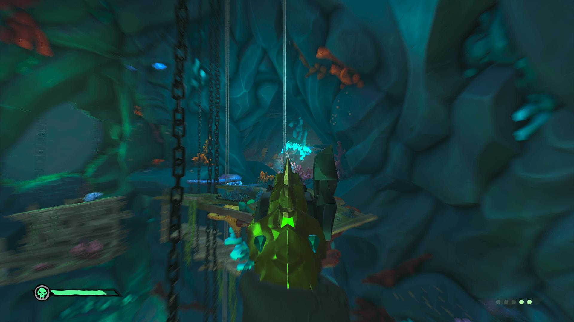 Citadel-Cavern3-Activating the Main Statue