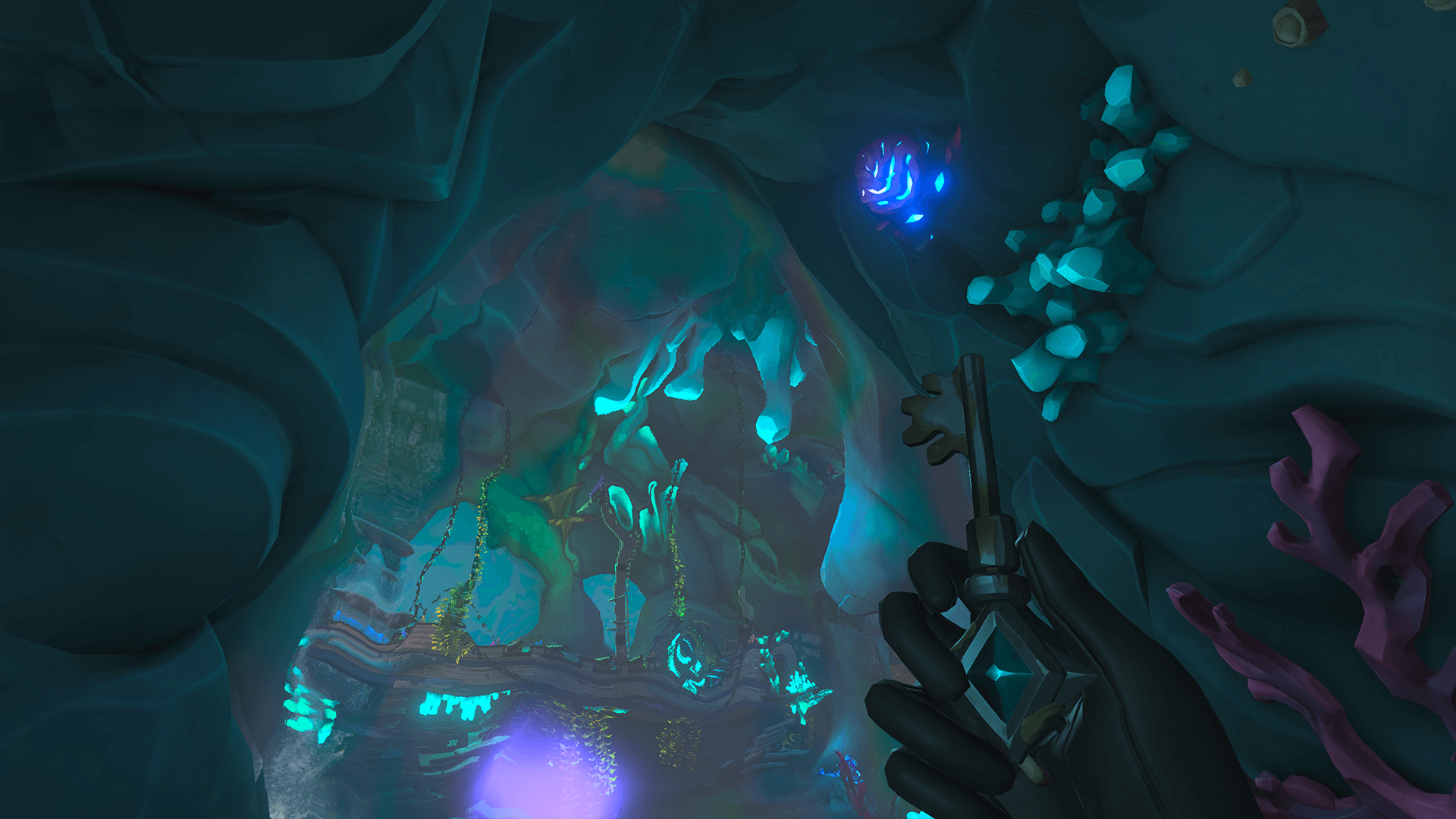 Entering Citadel Cavern 4