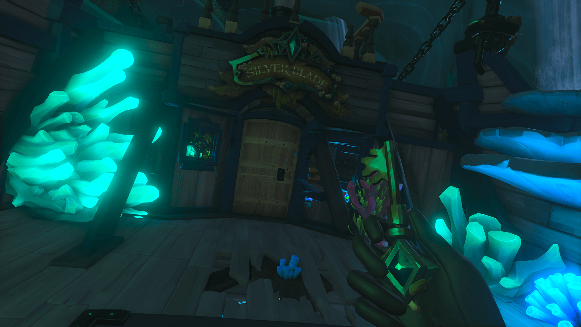 Silver Blade Key and Captains Cabin-Chest of Eternal Sorrow Commendation