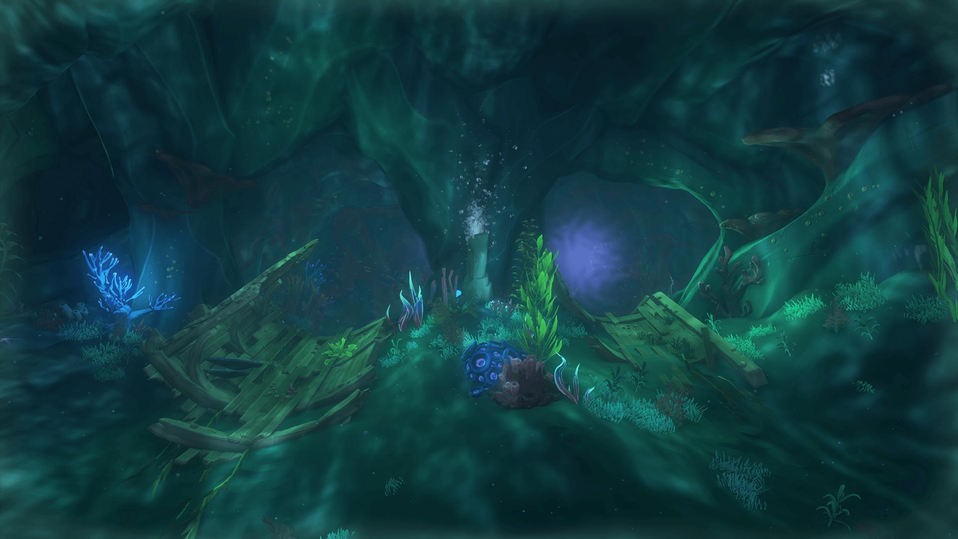 Siren Citadel, The First Cavern
