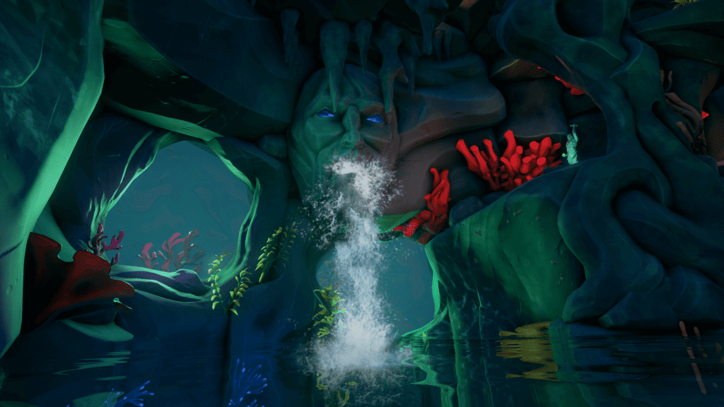 Water Rushing into Spire Level 3