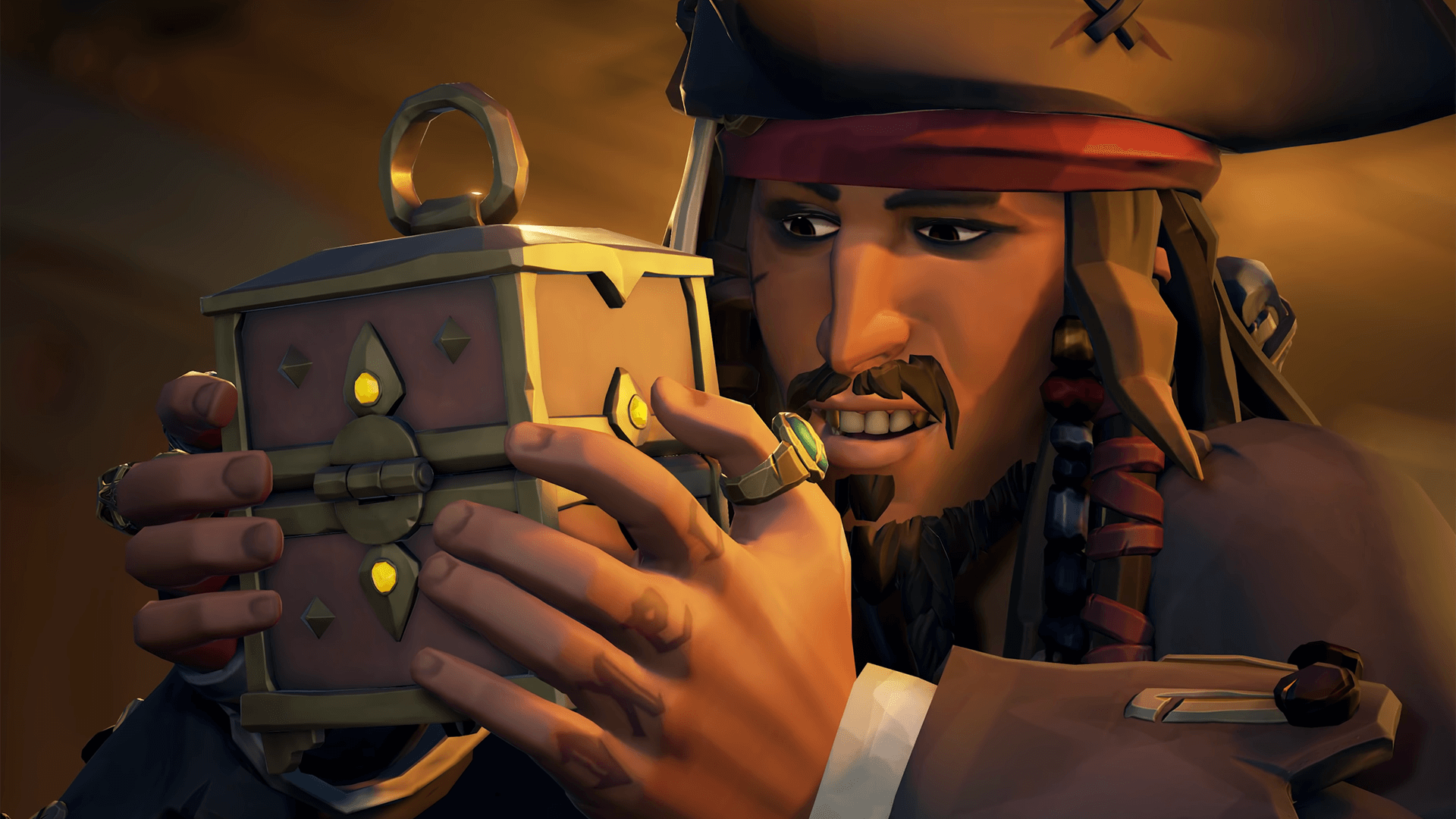 Jack Sparrow and the Golden Treasure