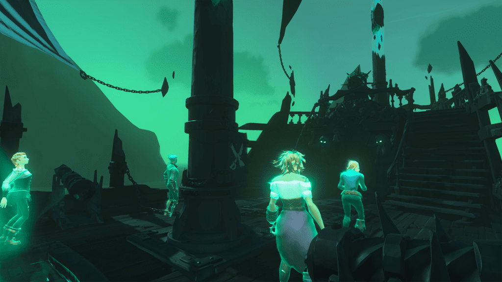Souls on the Ferry of the Damned