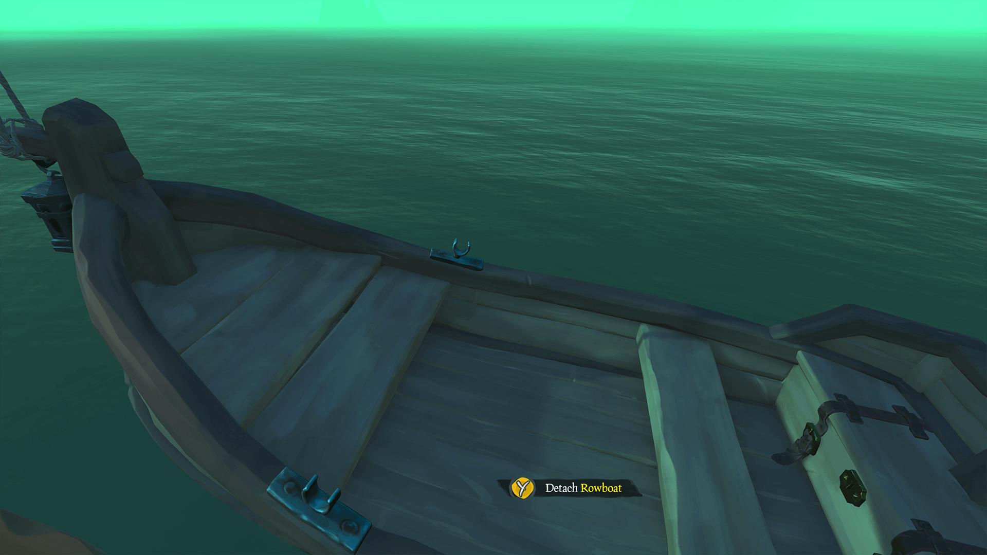Detach Rowboat
