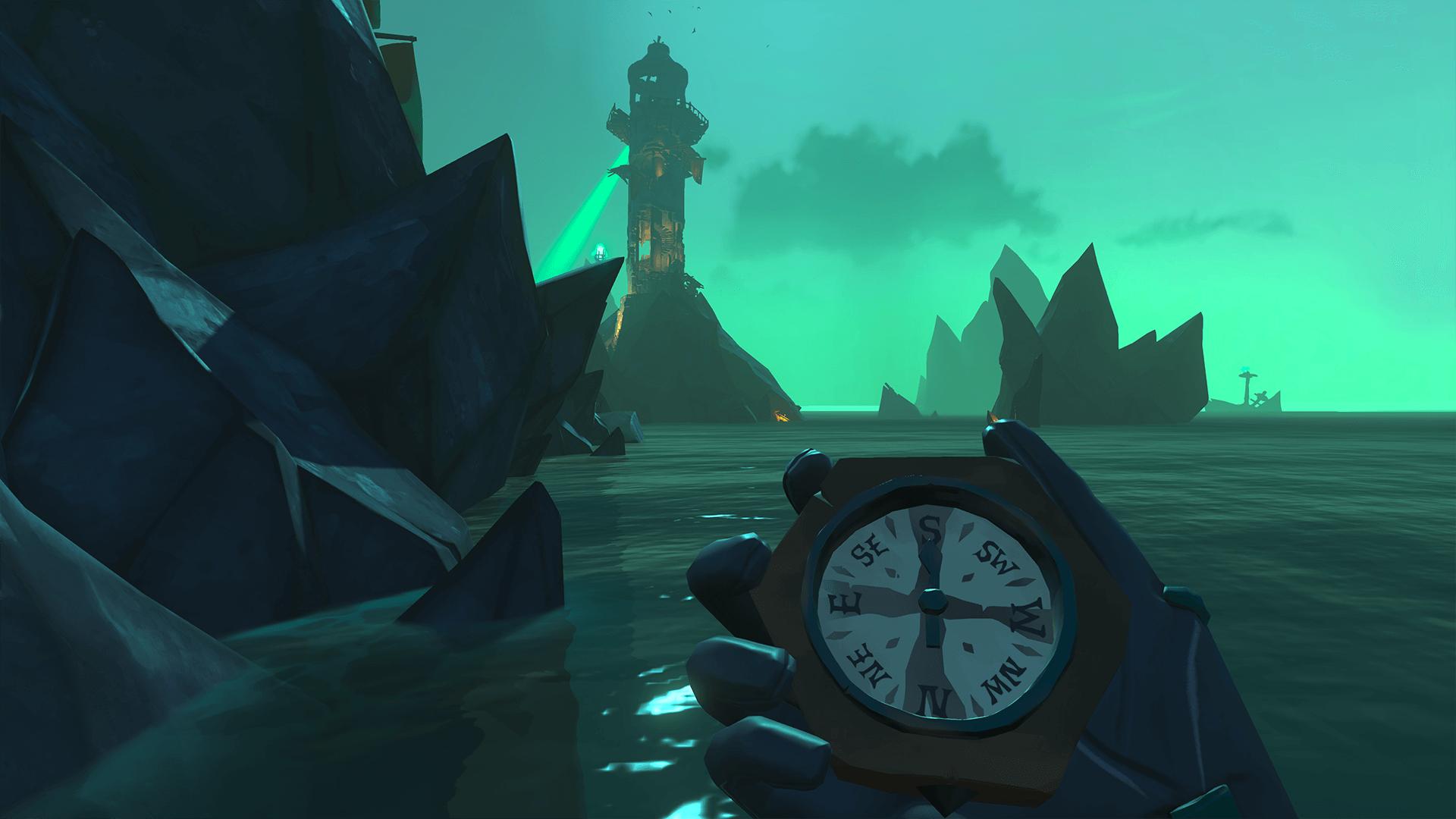 Sail Around Lighthouse
