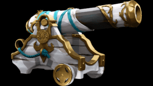 Gilded Phoenix Cannon