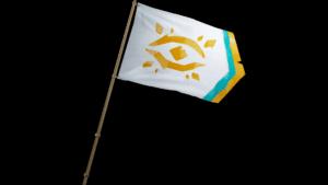 Gilded Phoenix Flag