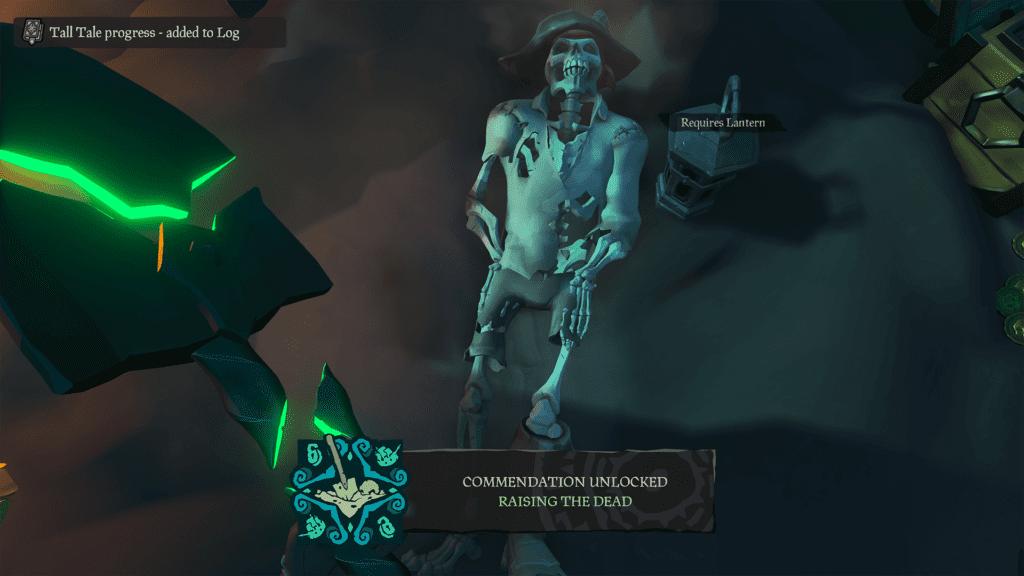 Raising the Dead Commendation
