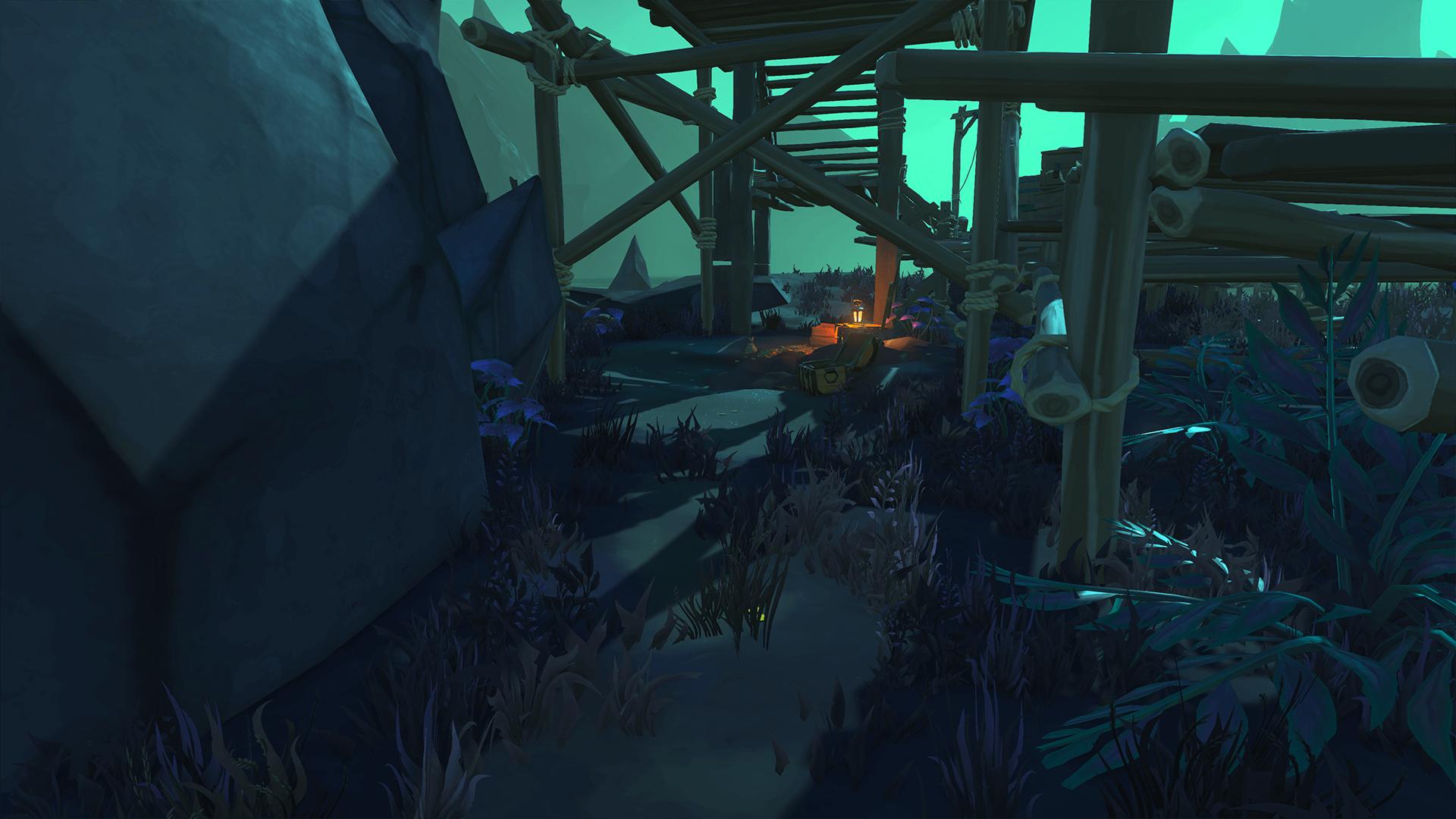 Under Dock