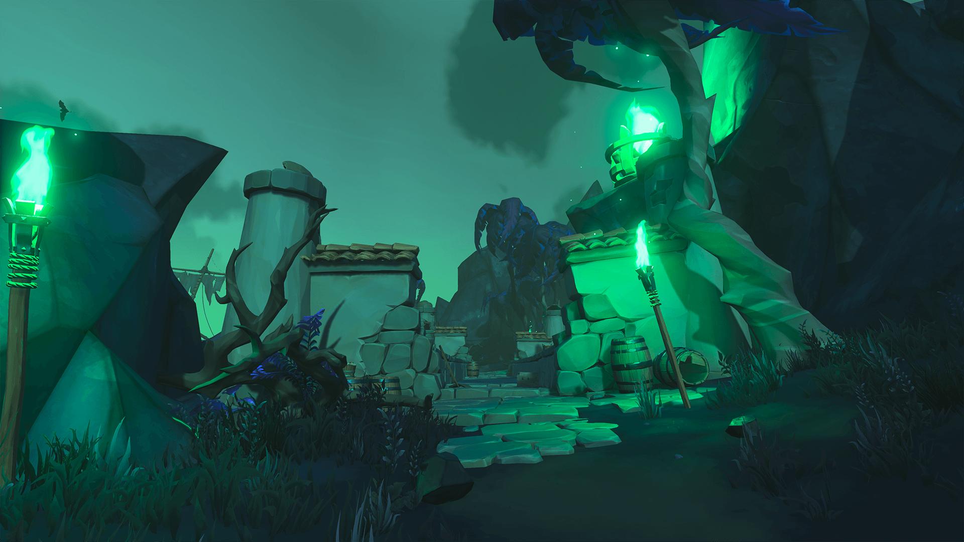 Secret of the Grave Entrance