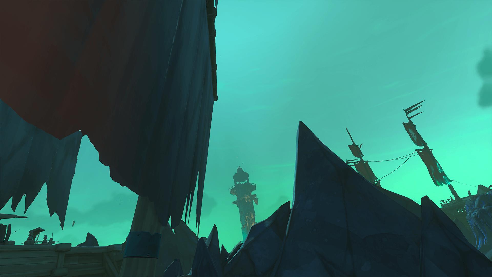 Secret of the Grave Final Mast Position