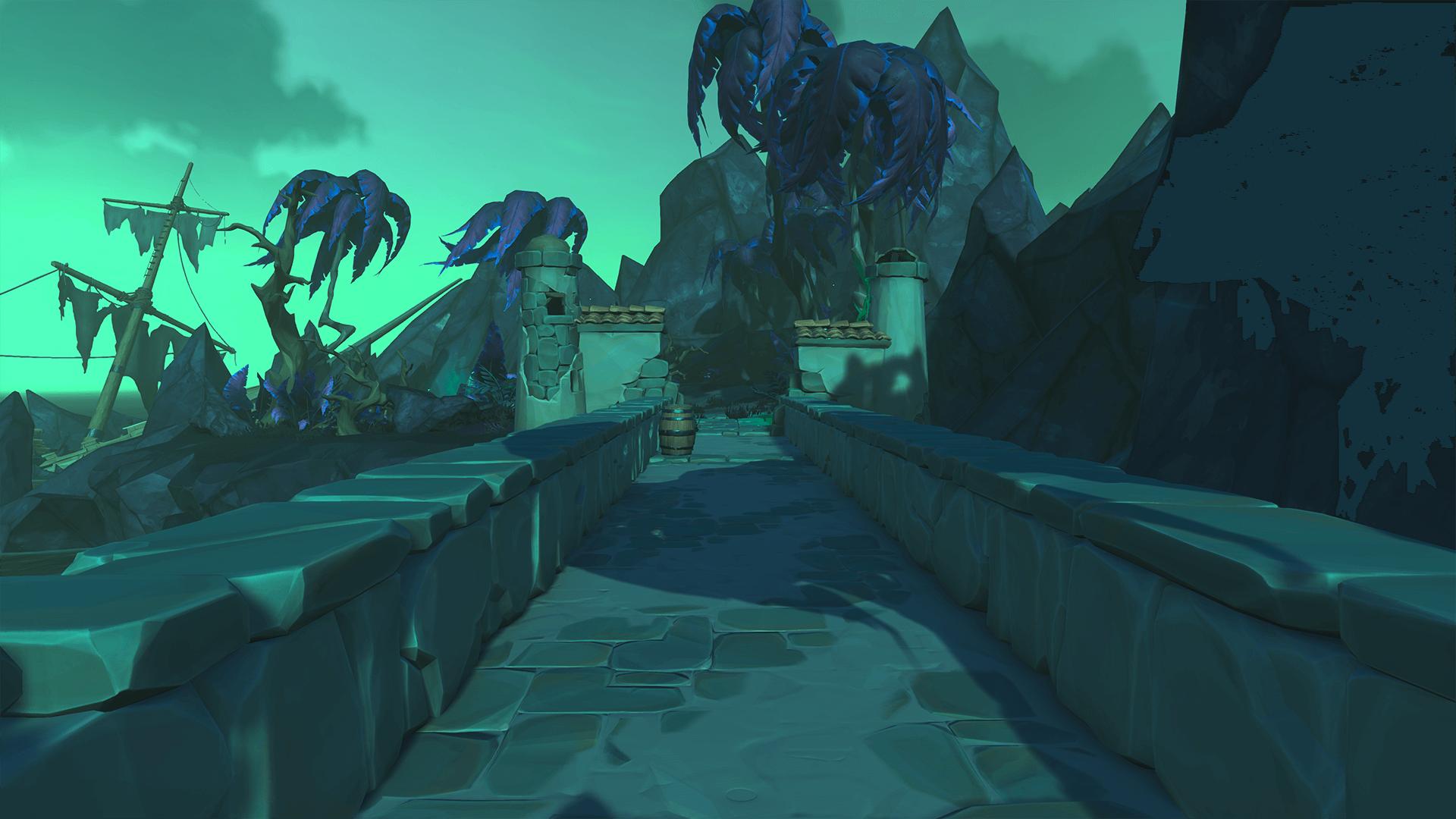 Secret of the Grave Raised Bridge