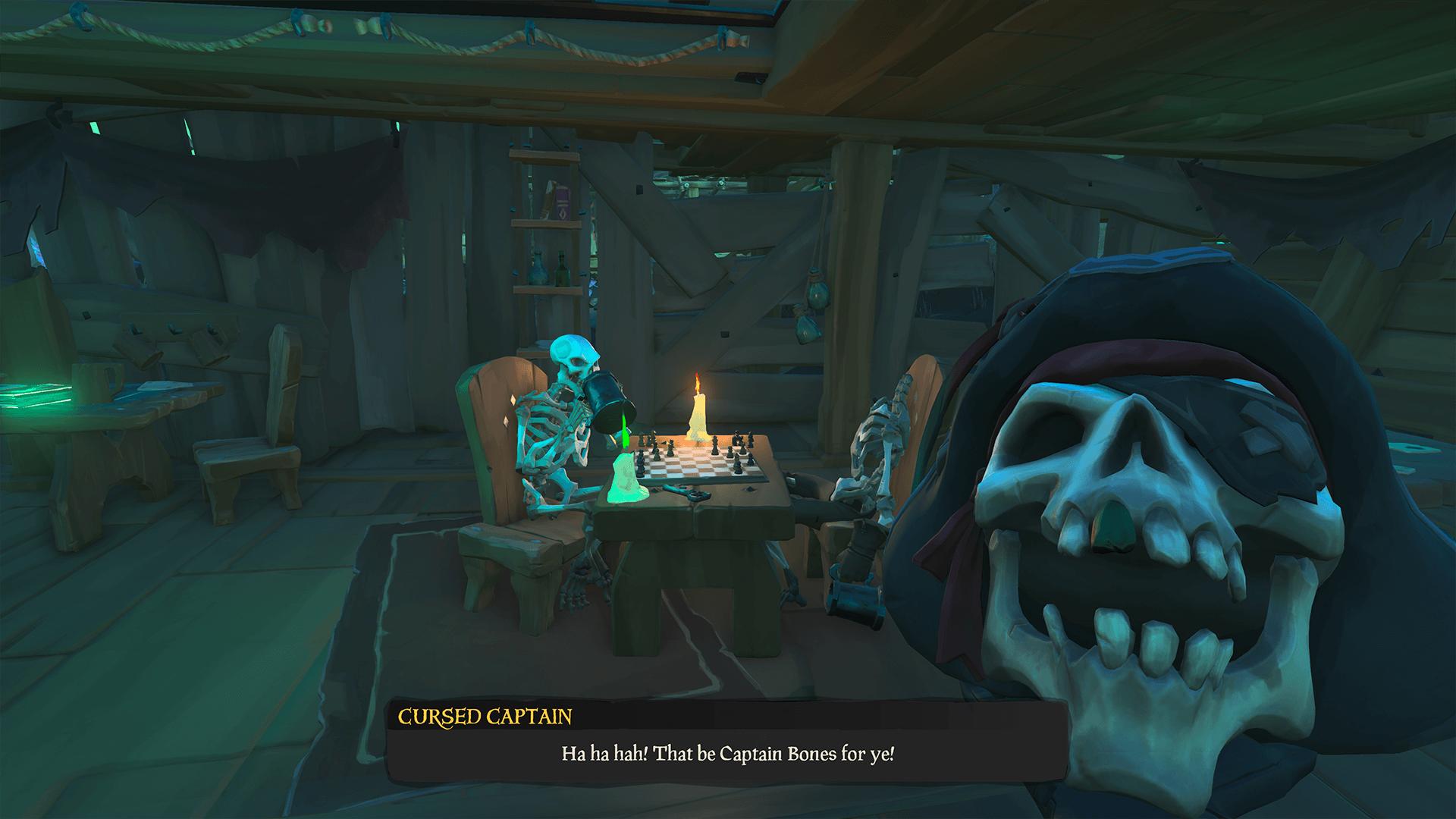 Cursed Captain Gambling Den