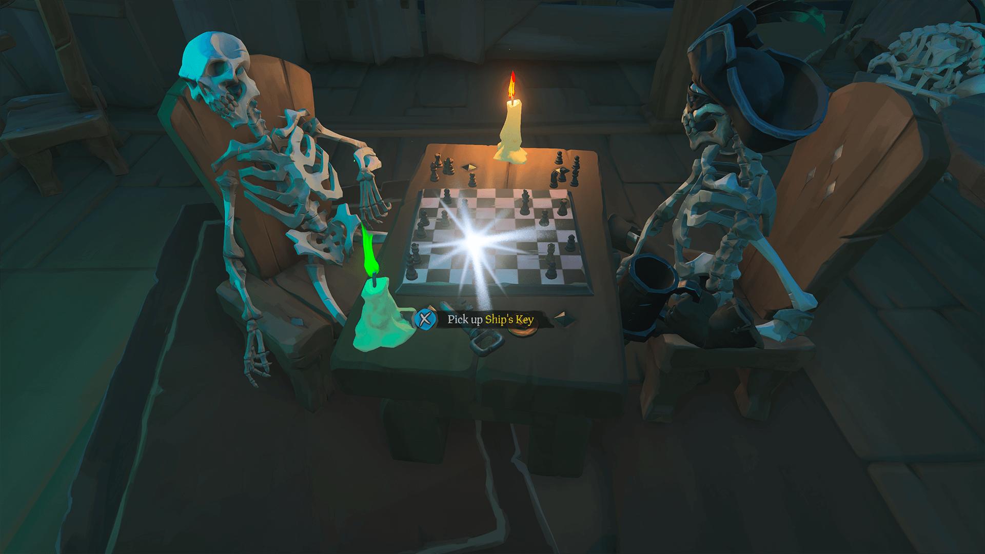 Pick up Ship's Key