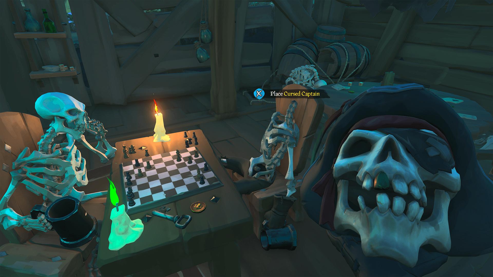 Place Cursed Captain