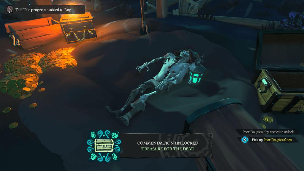 Treasure for the Dead Commendation