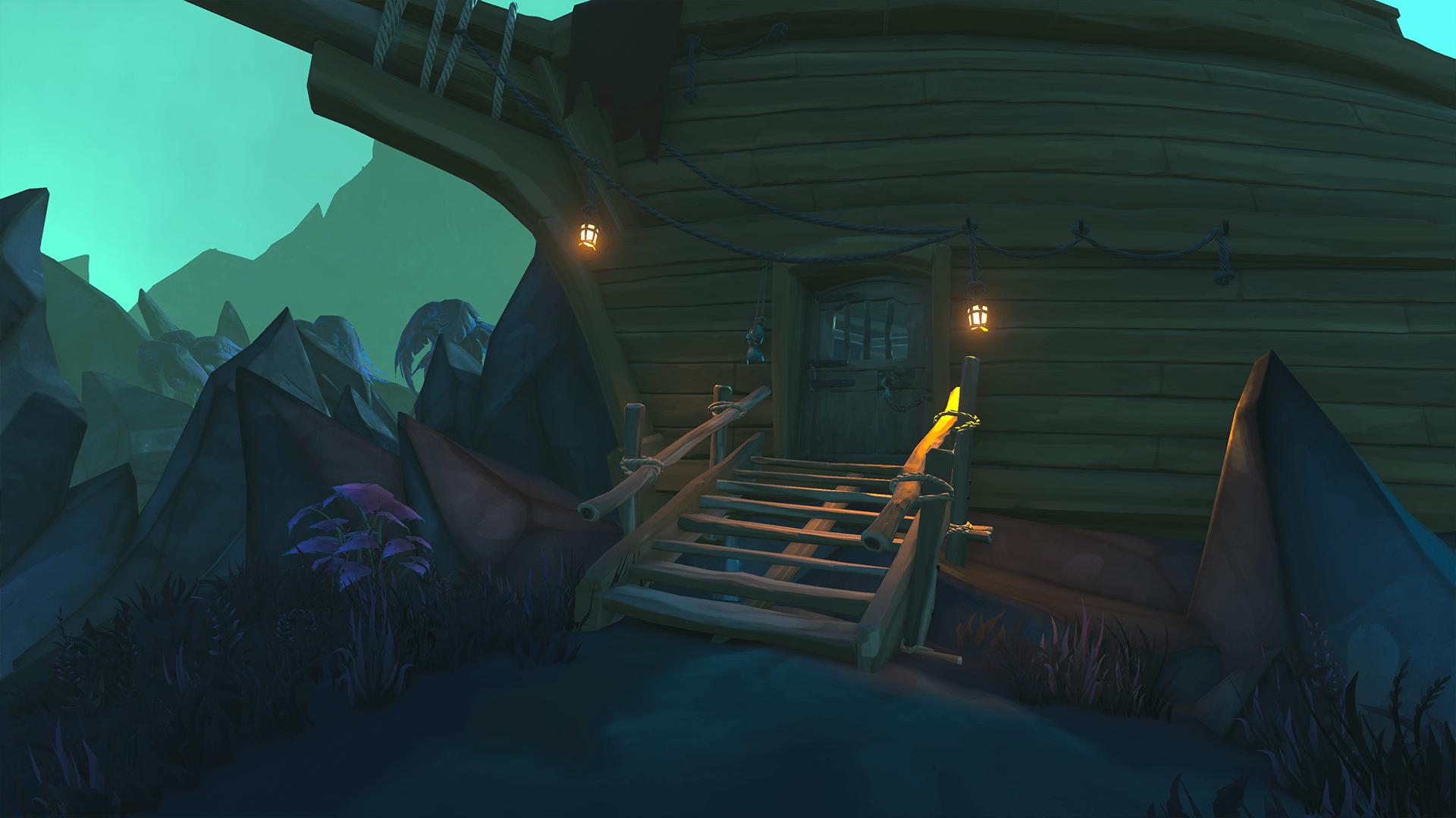 Door to Halved Shipwreck