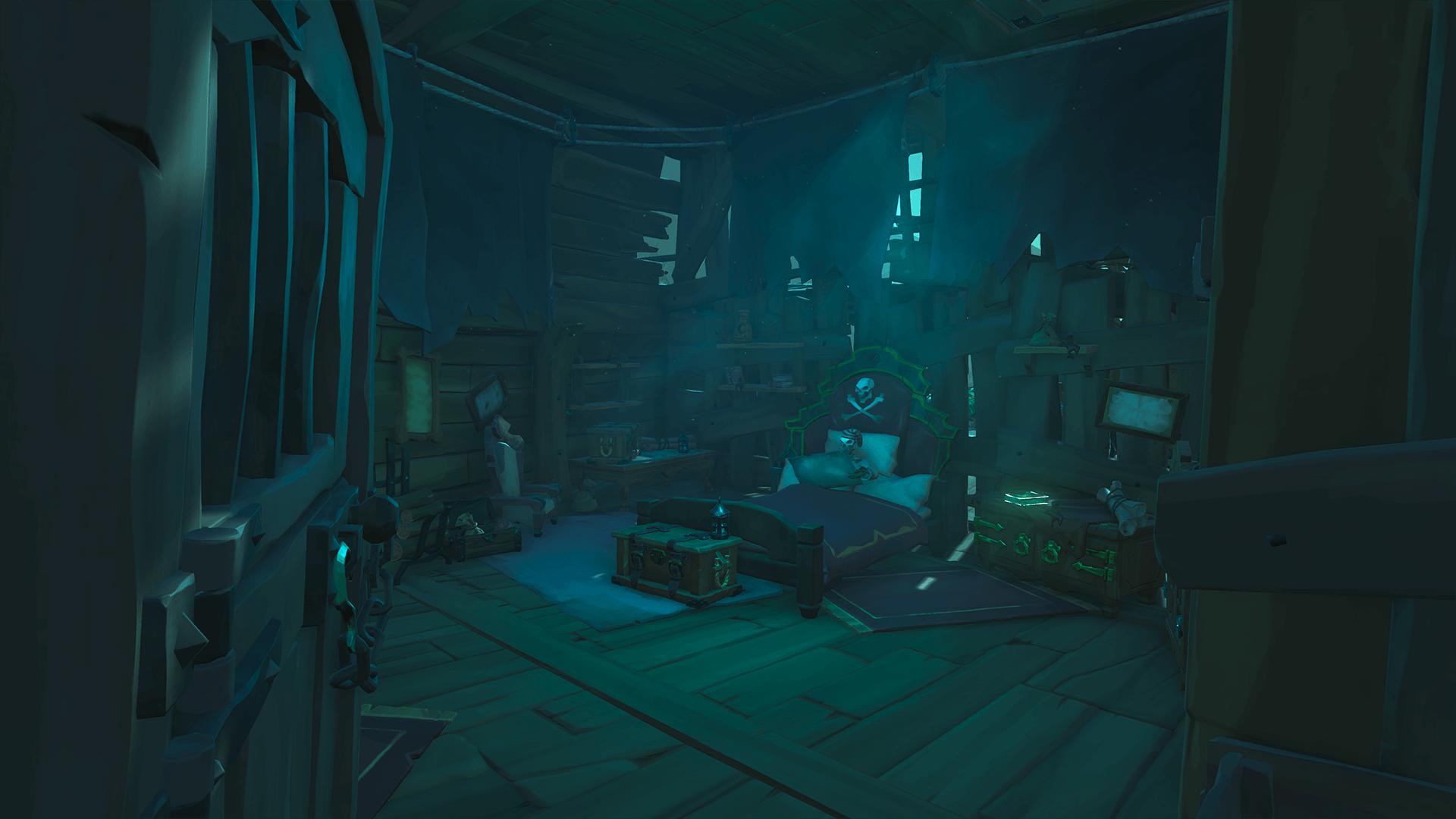 Inside Halved Shipwreck