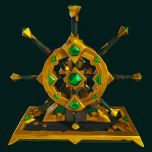 Gold Hoarder Wheel