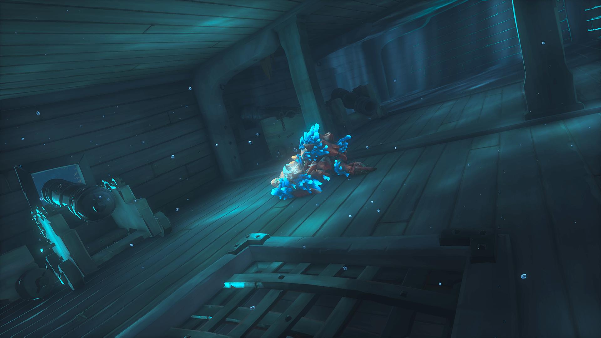 The Crawler below Deck
