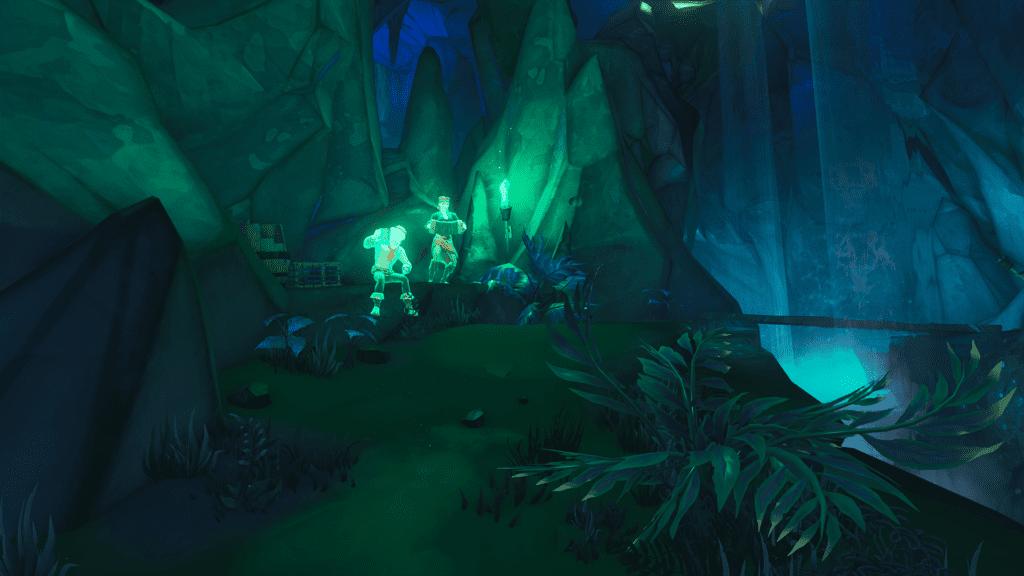 Scenes in the Dead Man's Grotto