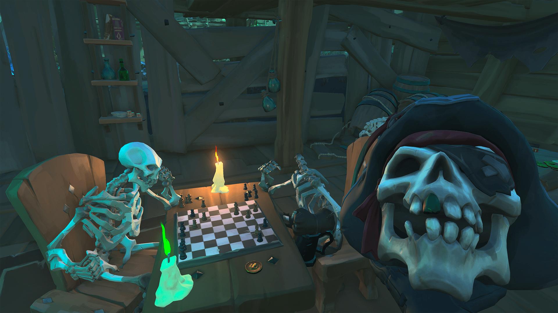 Cursed Captain in Gambling Den