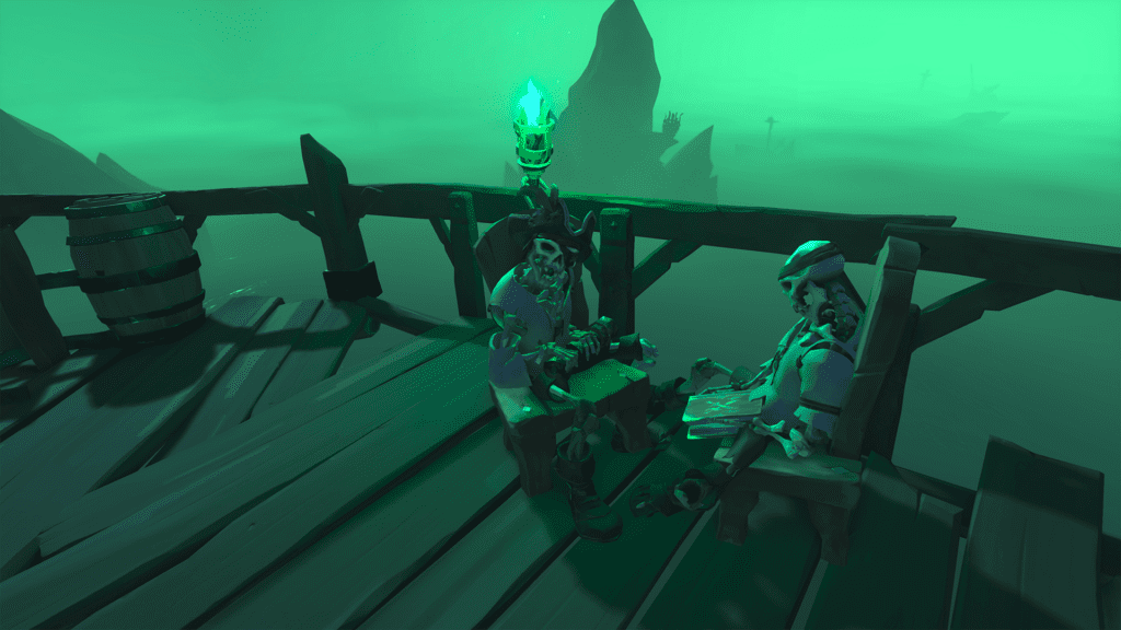 Cursed Captain on Lighthouse Skeleton Body