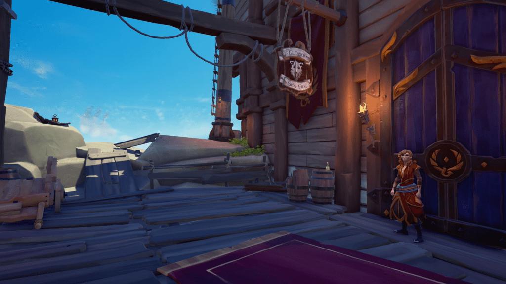 Sea Dog Tavern Ladder